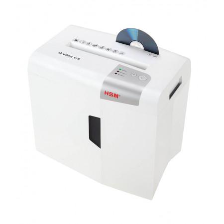 Destructeur de documents HSM shredstar S10 - 6 mm+ bloc de coupe sép. CD